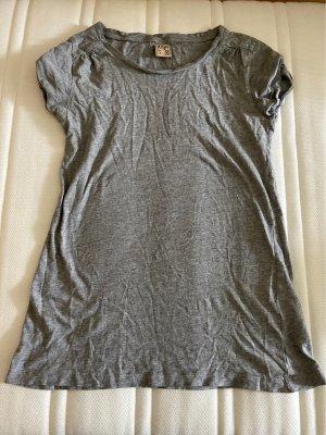 Langes T-Shirt schmal geschnitten