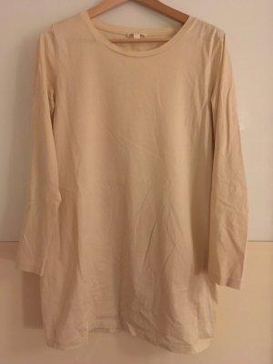 COS Camicia lunga beige chiaro Cotone