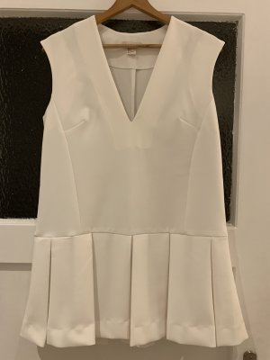 H&M Lange top wit Polyester