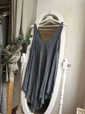 H&M Divided Top largo gris