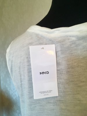 Mango Lange top wit