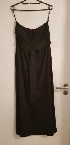Langes, trägerloses Abendkleid Gr. 40
