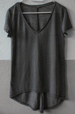 langes Tshirt grau