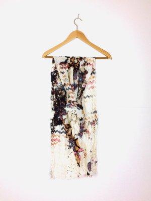 Langes Tuch / Schal mit abstrakten Muster