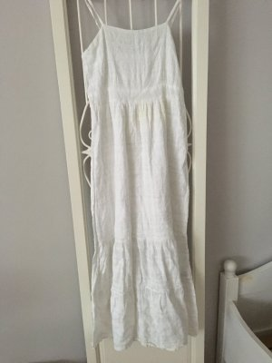 b.p.c. Bonprix Collection Vestito da spiaggia bianco-grigio chiaro