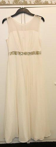 Langes weißes Kleid Brautkleid