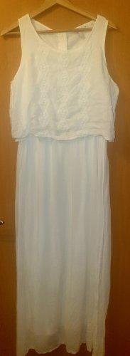 langes weißes Kleid von Esprit gr 36