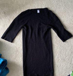 Prego Wełniana sukienka czarny