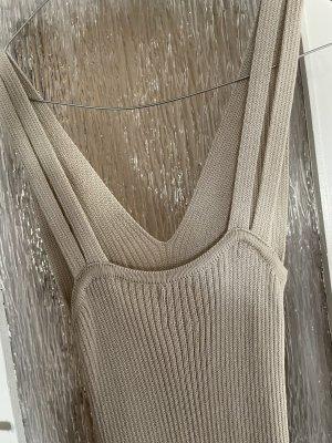 Massimo Dutti Vestito di lana crema