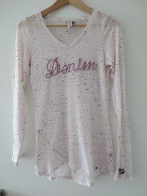 Langshirt, Mod of Demin, Gr. 36/ S, lila-durchsichtig, selten getragen