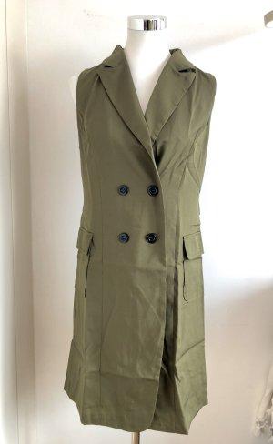 Langweste / Mantelkleid in Khaki