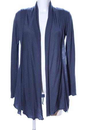 Lanius Cardigan blau meliert Casual-Look