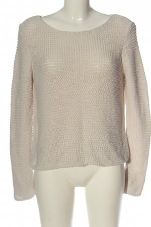 Lanius Crochet Sweater natural white casual look