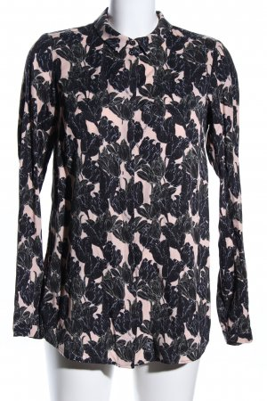 Lanius Shirt Blouse black-cream allover print business style
