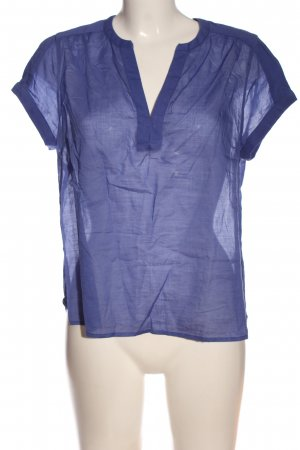 Lanius Short Sleeved Blouse blue casual look