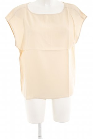 Lanius Short Sleeved Blouse apricot casual look