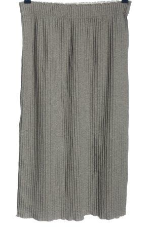 Lanius Midi Skirt light grey-grey