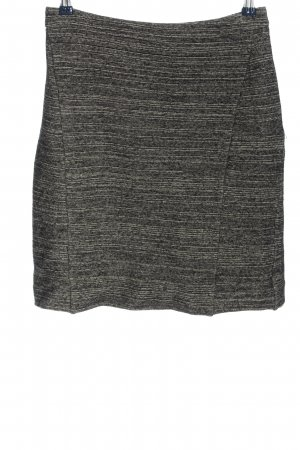 Lanius Miniskirt light grey flecked casual look