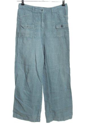 Lanius Jersey Pants blue casual look