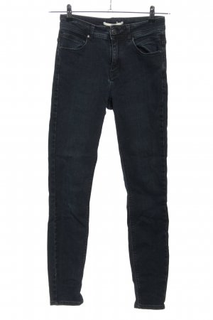 Lanius Jeans coupe-droite bleu style décontracté