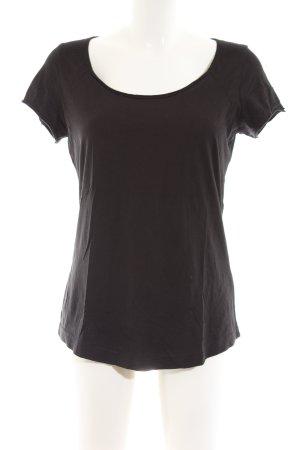 Lanius T-Shirt schwarz Casual-Look