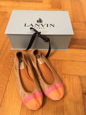 Lanvin Ballerines pliables chameau