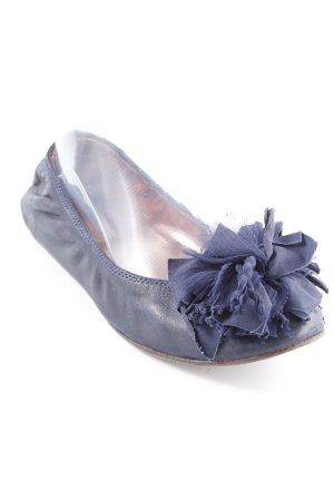 Lanvin faltbare Ballerinas dunkelblau Casual-Look
