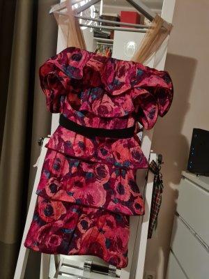 Lanvin for H&M Sukienka z falbanami Wielokolorowy