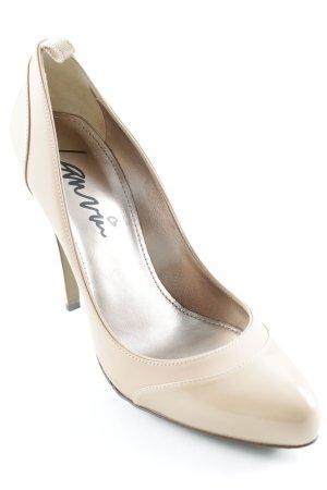 Lanvin High Heels nude-beige Elegant