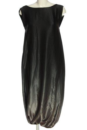 Lanvin Sukienka midi czarny-jasnoszary Gradient Elegancki