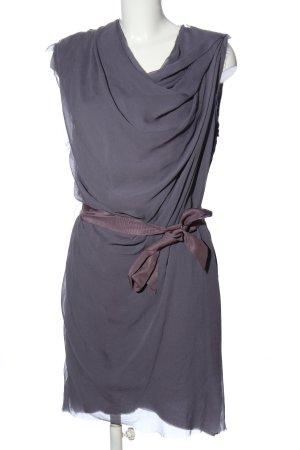 Lanvin Sukienka koszulowa fiolet W stylu casual