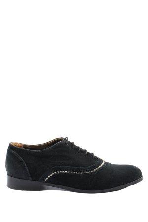 Lanvin Oxfordy czarny W stylu casual