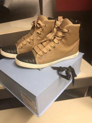 Lanvin Paris High Top Sneakers, Größe 41