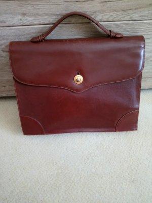 Lanvin Laptop bag cognac-coloured