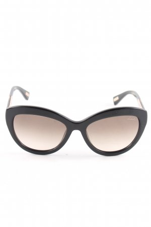 Lanvin Retro Glasses black-brown casual look