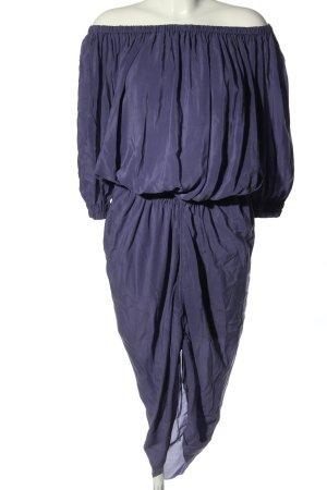 Lanvin Off-The-Shoulder Dress lilac casual look