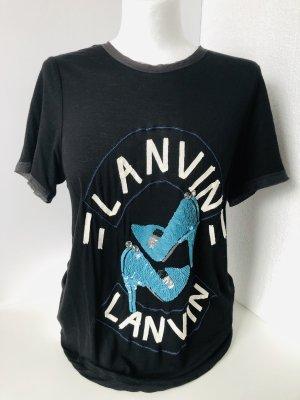 Lanvin T-shirt Wielokolorowy Wiskoza