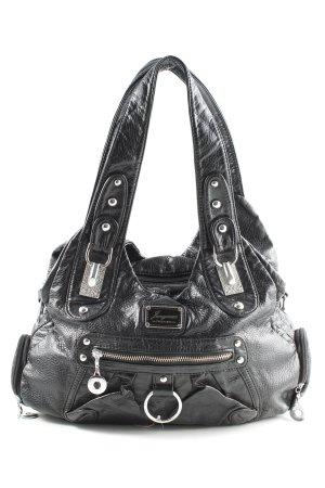 Handtasche schwarz Business-Look