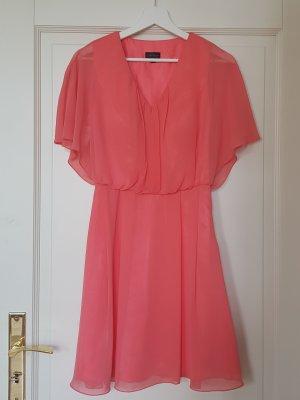 Laona A Line Dress neon pink