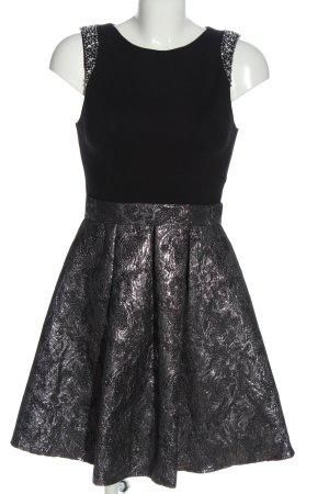 Laona A-Linien Kleid schwarz-silberfarben Elegant