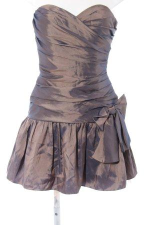 Laona Abendkleid bronzefarben Elegant
