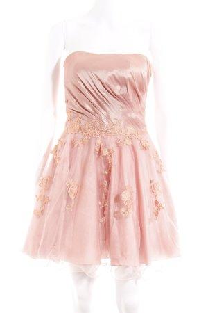 Laona Abendkleid rosa Blumenmuster Elegant
