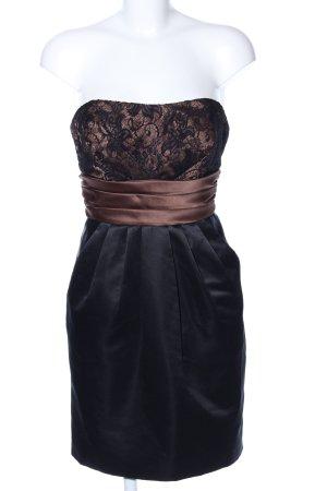 Laona Abendkleid schwarz-braun Elegant