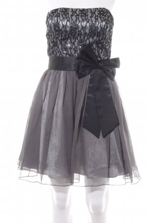 Laona Abendkleid schwarz-grau Elegant
