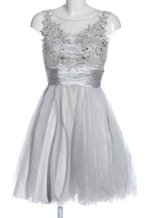 Laona Robe de bal gris clair-crème élégant