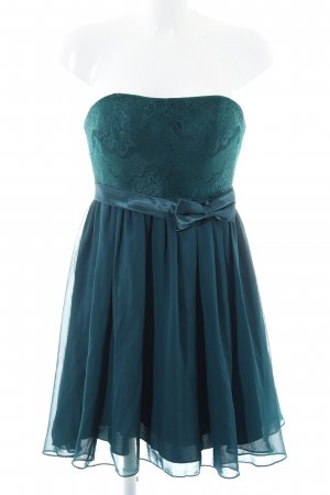 Laona Bandeaukleid grün-blau Elegant