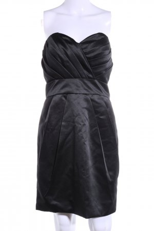 Laona Bandeaujurk zwart elegant