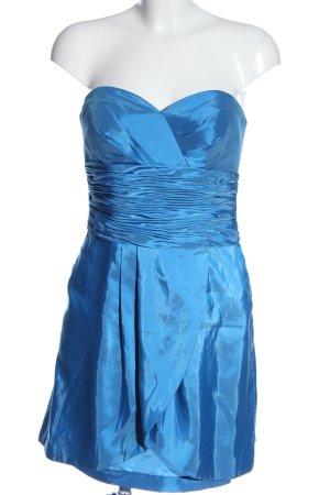 Laona Bandeaujurk blauw elegant