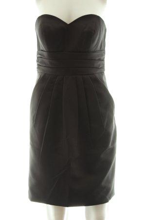 Laona Vestido bustier negro elegante