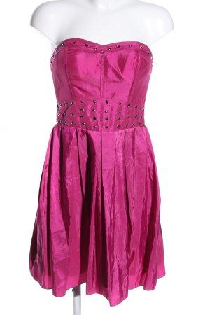 Laona Vestido bustier rosa elegante